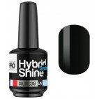 Mini Vernis Semi-Permanent Hybrid Shine Mollon Pro 8ml Noir 2/48