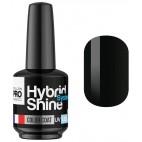 Mini Vernis Semi-Permanent Hybrid Shine Mollon Pro 8ml Noir 2/48