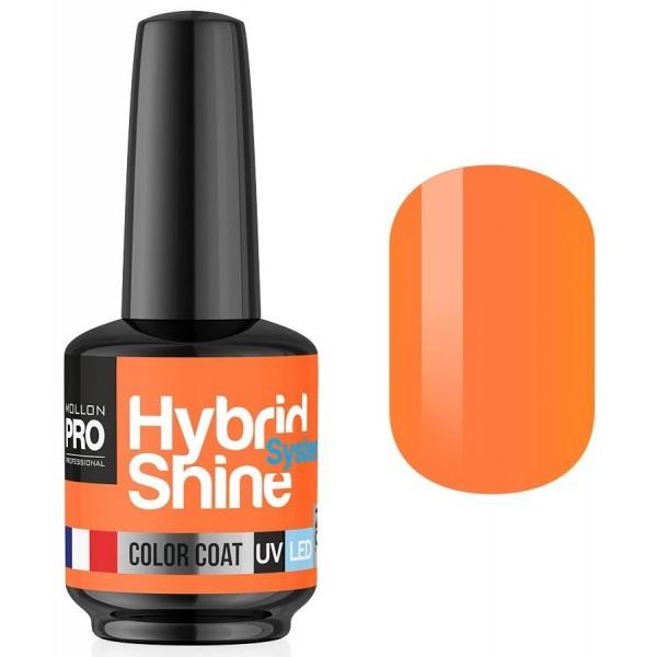 Mini Vernis Semi-Permanent Hybrid Shine Mollon Pro Peach 2/137