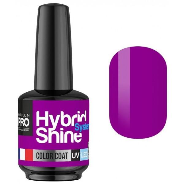 Mini Vernis Semi-Permanent Hybrid Shine Mollon Pro Grape 2/140