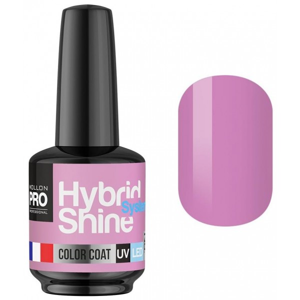 Mini-smalto semi-permanente Hybrid Shine Mollon Pro Viviane 2/135
