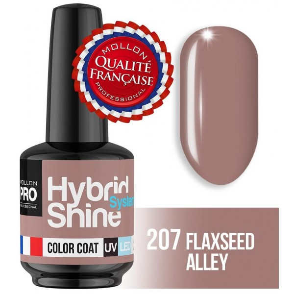 Mini Vernis Semi-Permanent Hybrid Shine Flaxseed Alley 2/207