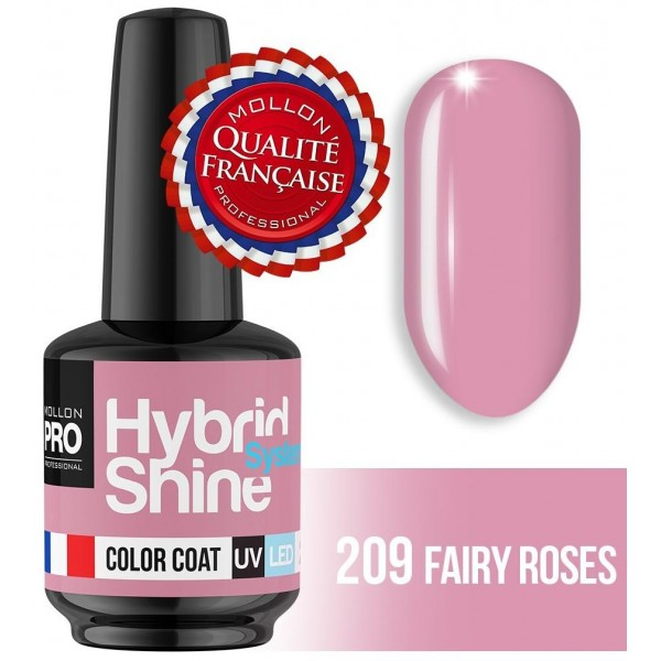 Mini Vernis Semi-Permanent Hybrid Shine Mollon Pro Fairy Roses 2/209