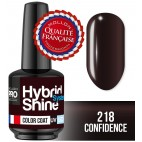 Mini Vernis Semi-Permanent Hybrid Shine Mollon Pro 8ml 218