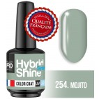 Mini lacca semi-permanente ibrida Shine Mollon Pro 254 Mojito 8ml