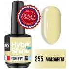 Mini Vernis Semi-Permanent Hybrid Shine Mollon Pro 255 Margarita 8 ml