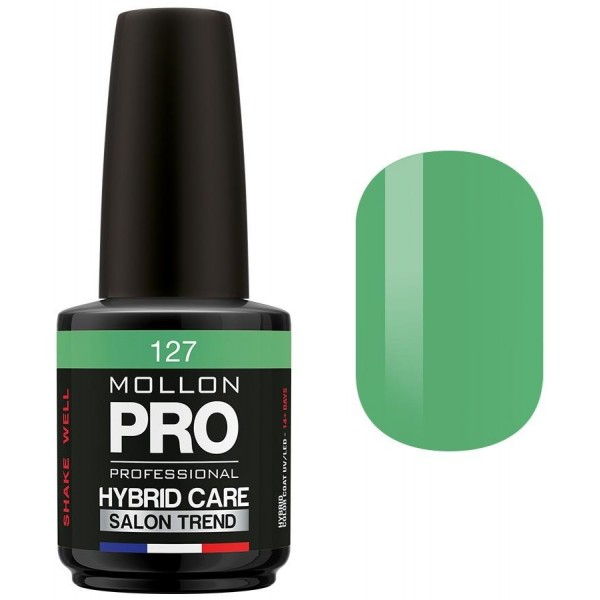 Semi-permanente Politur Hybrid Mollon Pro Care 15ml Mireille - 127