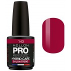 Varnish Semi-permanent Hybrid Care Mollon Pro 15ml Garnet - 143