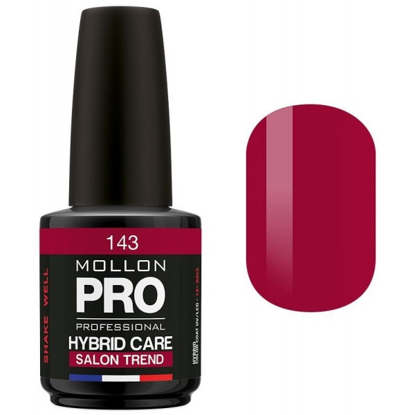 Vernis Semi-permanent Hybrid Care Mollon Pro 15ml Garnet - 143
