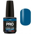 Varnish Semi-permanent Hybrid Care Mollon Pro 15ml Sapphire - 144