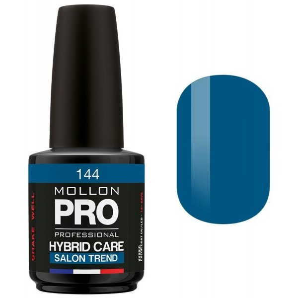 Smalto semi-permanente Hybrid Care Mollon Pro (per colore) Sapphire - 144