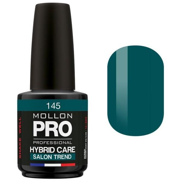 Smalto semi-permanente Hybrid Care Mollon Pro (per colore) Emerald - 145