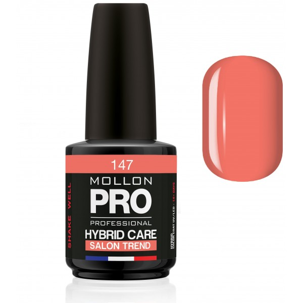 Vernis Semi-permanent Hybrid Jungle Collection Mollon Pro 15ml Strelitzia - 147