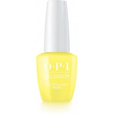 Image of Gel OPI Past Color Gel - Hai bisogno di occhiali da sole? 15 ml