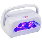 6101014 Lampe Uv Et Led-Lampe De Sechage Portable Et Recharg
