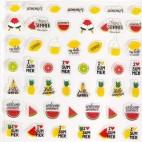 Decorazioni adesive per unghie Peggy Sage 149236