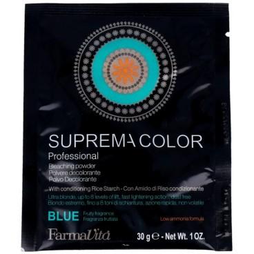 Poudre décolorante Suprema bleue FARMAVITA 500g