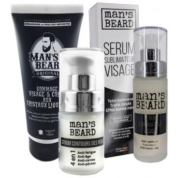 Gommage visage et corps Man's Beard 100ML