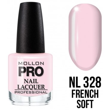 Vernis classique n°328 French Soft Mollon Pro 15ML