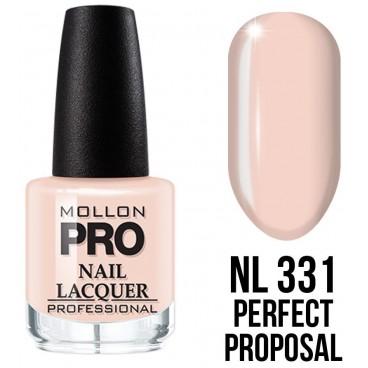 Vernis classique n°331 Perfect Proposal Mollon Pro 15ML