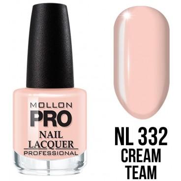 Vernis classique n°332 Cream Team Mollon Pro 15ML