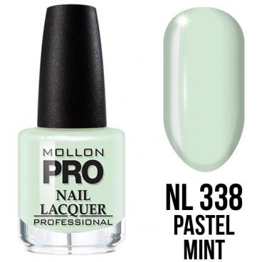 Vernis classique n°338 Pastel Mint Mollon Pro 15ML