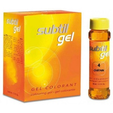 Gel sutil Nº 4 Auburn 50 ML