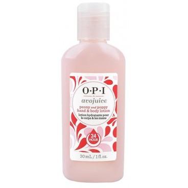 Image of OPI Mani e cura del corpo Avojuice Peony & Poppy 28mL