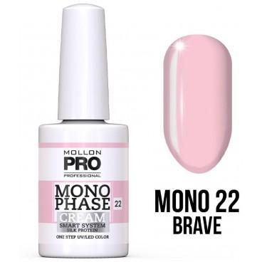Vernis Monophase n°22 Brave uv/led Mollon Pro 10ML