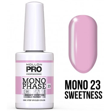 Vernis Monophase n°23 Sweetness uv/led Mollon Pro 10ML