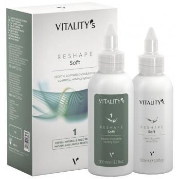 Permanente Reshape Soft ondulant n°1 Vitality's 2*100ML