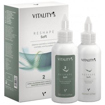 Permanente Reshape Soft ondulant n°2 Vitality's 2*100ML