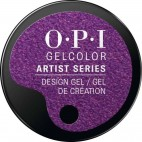 "OPI - Gel Color Artist ""Grape Minds Think Alike"" 3 Grs"