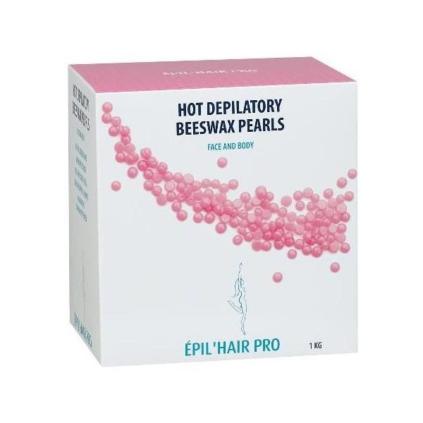 Cera depilatoria - Rosa - Sotto forma di perle - 1 kg