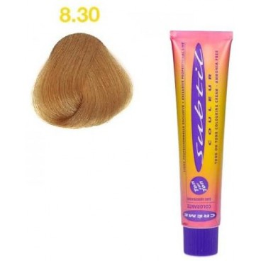 8.30 blond clair doré intense