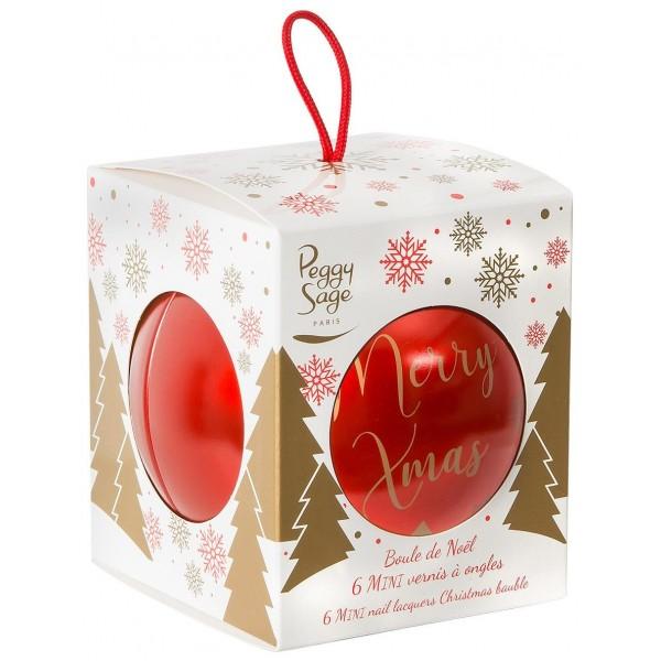 Peggy Sage Mini Nail Polish Christmas Ball