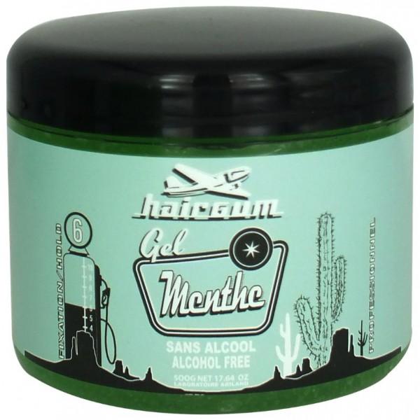 Styling Gel alcool Hairgum menta 500g