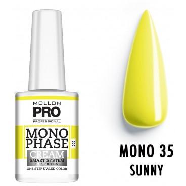 Vernis Monophase n°35 Sunny uv/led Mollon Pro 10ML