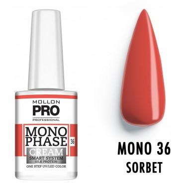 Vernis Monophase n°36 Sorbet uv/led Mollon Pro 10ML