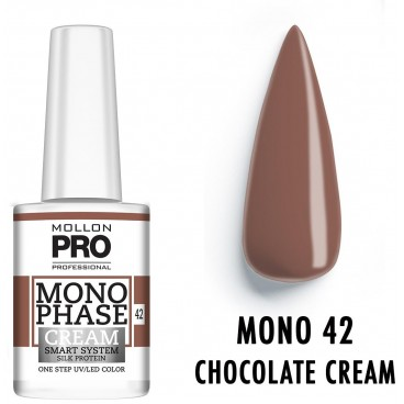 Vernis Monophase n°42 Chocolate Cream uv/led Mollon Pro 10ML