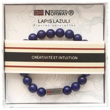 Bracelet lapis lazuli Stella Green