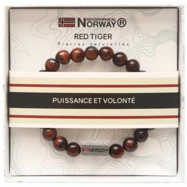 Bracelet red tiger Stella Green