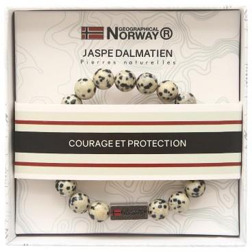 Bracelet jaspe dalmatien Stella Green