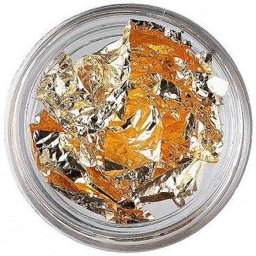 Feuilles métallisées pour ongles or 149137