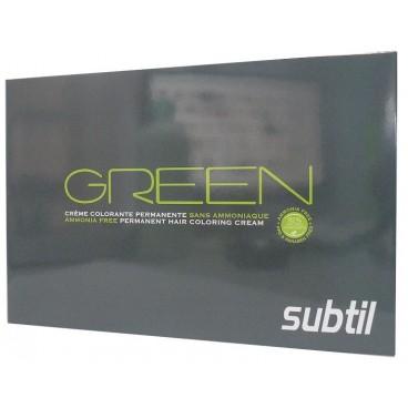 Nuancier Subtil Green