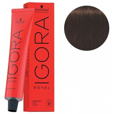 Igora Royal 4-68 Châtain Moyen Marron Rouge 60 ML