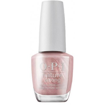 Vernis Intentions are rose gold Nature Strong OPI 15ML