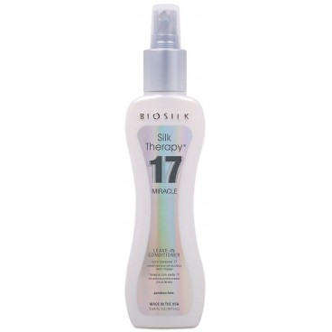 17 Miracle Leave-in cond Silk Therapy Biosilk 167ML