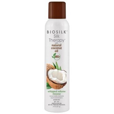 Mousse Volume Silk Therapy Coconut Oil Biosilk 227gr