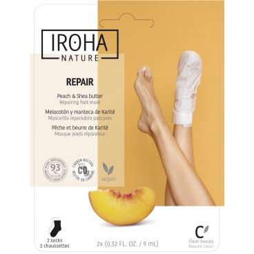Chaussettes masque hydratation & réparation Iroha Nature